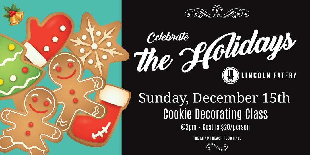 Holiday Cookie Decorating Workshop